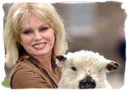 joanna lumley North East England, Animal Welfare and vegan festival