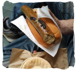 Hot Dogs at one of our festivals.