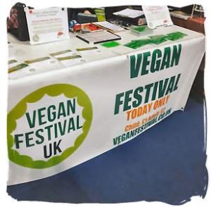 vegan festival store at vegfest