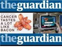 The guardian calls out NHS over cancer menu