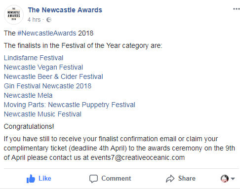 The Newcastle Awards