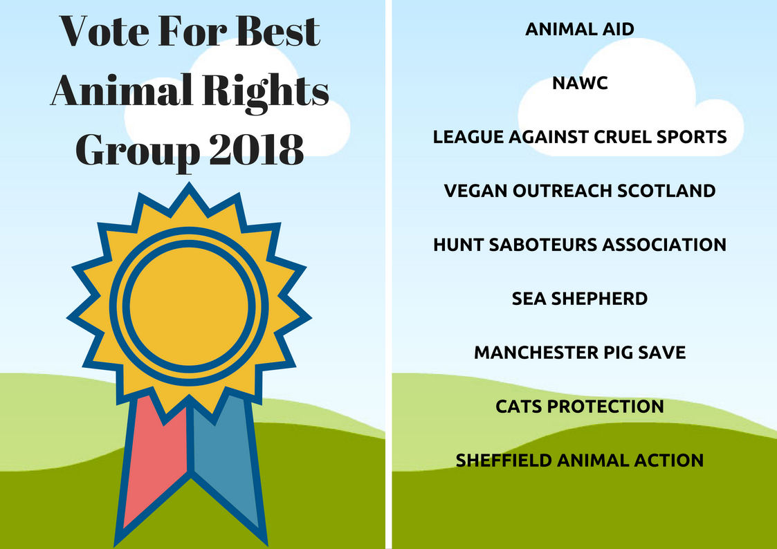 Vote For Best Animal Rights Group 2018