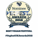 Vegan Award Nominee 2018
