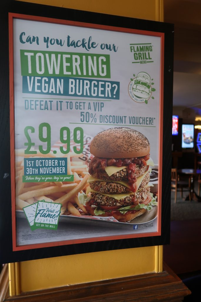 Alongside this they also have a great vegan menu with some fabulous dishes  on there such as fish and chips so if you are not feeling up for the  challenge ... 8191c081d47